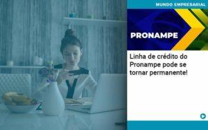 Linha De Credito Do Pronampe Pode Se Tornar Permanente Organização Contábil Lawini Notícias E Artigos Contábeis - HF Franco