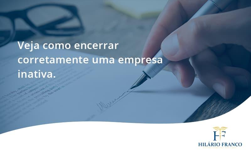 Encerrar Empresa Hilario Franco - HF Franco